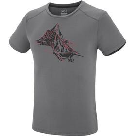 Millet Needles Short Sleeve Shirt Men tarmac